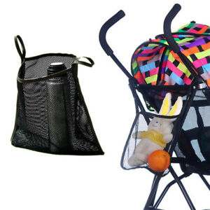 Stroller Pram Pushchair buggy NET BACK Bag Hanging Organizer Storage Pouch UK