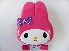 KAWAII My Melody Die cut lunch box Bento Box with belt 370ml