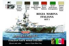 LifeColor CS15 Regia Marina ItalianA Set 1 6x 22ml Acrylic Colours