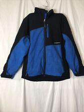 Weatherproof Antarctic Research Boys Black / Blue Zip Front Winter Jacket XL