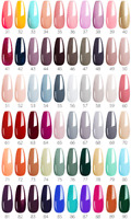 Venalisa Nail Polish Gel Enamel Lacque Soak-Off 59 UV LED Colors Shellak Varnish