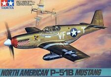 Tamiya 61042 1/48 Scale Model Figther Aircraft Kit North American P-51B Mustang