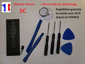 New Internal Battery Surrogate For IPHONE 5 C/5C + Kit 8 Tools