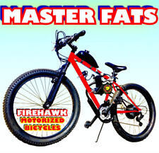 Master Fats Fat Tire 50 80 Cc Gas Motor Motorized Engine & Bike Bicycle Scooter