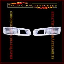 For CADILLAC CTS 2008 2009 2010 2011 2 Front Chrome Fog Lamp Light Covers Lower