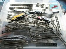 JOB LOT OF N GUAGE TRACK POINTS AND VEHICLES