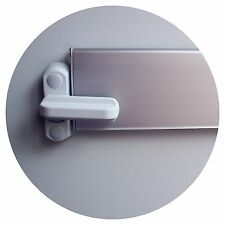 LETTER BOX LOCK FOR ADDED SECURITY FITS VARIOUS DEPTH INTERNAL LETTERBOX FLAPS