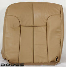 94-97 Dodge Ram 1500 2500 3500 Extended Club Cab -Driver Bottom Leather Seat TAN