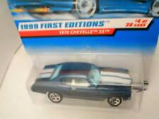1999 FE #4 1970 CHEVELLE SS blue full pinstripes