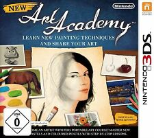 New Art Academy: Lerne neue Techniken und teile deine Werke (Nintendo 3DS, 2012)