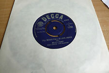 BILLY FURY - I'LL NEVER FALL IN LOVE AGAIN - 1963 -  DECCA F11701 - WS. EX.