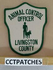 LIVINGSTON COUNTY, MICHIGAN ANIMAL CONTROL SHERIFF (POLICE) SHOULDER PATCH MI
