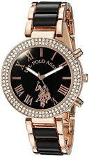 Accutime Watch Corp. U.S. Polo Assn. Womens Rose Gold-Tone Dress