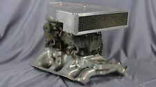EXT. RARE EDMUNDS intake for 1952-54 317 cu in Lincoln w/2 4bbl rare STROMBERGS