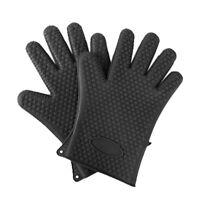Une paire de gants de cuisine Gant en Silicone resistant A la chaleur Mitai Q1L6