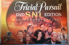 Trivial Pursuit SNL DVD Edition Saturday Night Live Family Fun Board Game