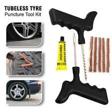 Tubeless Tyre Puncture Repair Kit Emergency Car Van Motorcycle Tire Tool Kit