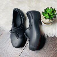 Crocs Black Slip On Clogs Mule Shows  Women's Size 6 Lightweight