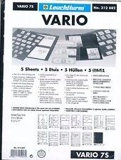5 RECHARGES LEUCHTTURM VARIO 7S Noir