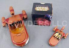 Star Wars 1978 Landspeeder & Miniature w/ Luke & C-3PO + 1999 Anakin Viewer