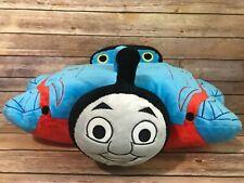 """Thomas The Tank Engine Pillow Pet Train Plush  17"""" Blue"""