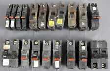 17x Federal Pacific Stab-Lok 20 30 50 Amp Breakers 1 2 Pole Thin Thick Doubles