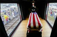 President George H W Bush Funeral Train Honor Guards High Gloss 8.5x11 Photo