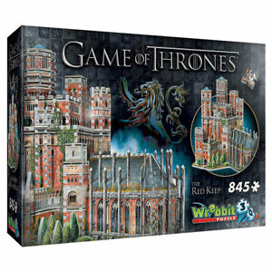 Game of Thrones: Red Keep 845pc 3D Jigsaw Puzzle