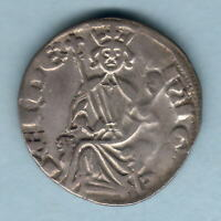 Cyprus - Order of Malta. Crusades.. Hugh IV (1324-59) Silver Gros.. aVF