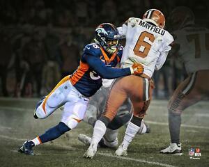 "Von Miller Denver Broncos Franchise Sack Record Unsigned 16"" x 20"" Photo"