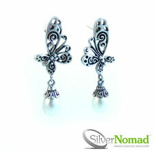 Drop/Dangle Not Enhanced Sterling Silver Fine Earrings