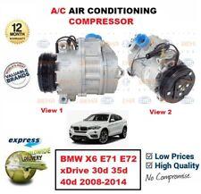FOR BMW X6 E71 E72 xDrive 30d 35d 40d 2008-2014 NEW AIR CONDITIONING COMPRESSOR