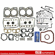Fits 99-05 Subaru Impreza Forester 2.5L SOHC Full Gasket Set + Silicone EJ25