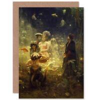 Ilya Yefimovich Repin Repin Sadko Old Master Painting Blank Greeting Card