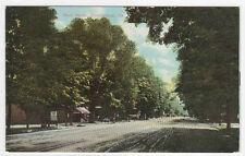 Main Street Stroudsburg Pennsylvania 1910c postcard