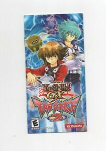 Yugioh GX Tag Force 2 PSP MANUAL ONLY Authentic