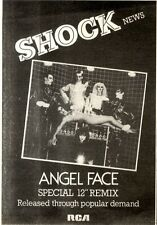 14/3/1981Pg10 Single Advert 7x5 Shock, Angel Face