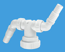 McAlpine Twin Spigot Connector Add Dishwasher & Washing Machine Standpipe V33WM
