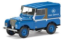 "Corgi Vanguards 1/43 Land Rover S1 Series 1 80"" RAC Service Vehicle Blue Va11116"