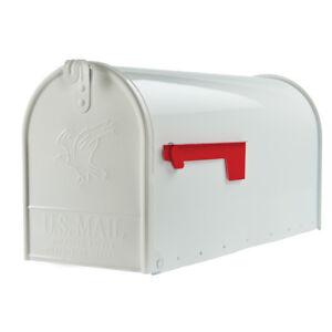"""Original US-Mailbox T-2, Stahl, weiß - """"Made in USA"""" - US Mailbox"""