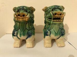 Pair of Vintage Foo Dogs
