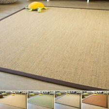 Sisal Teppich Brazil - Bordürenteppich fünf Farben und Bordüren aus 100% Sisal