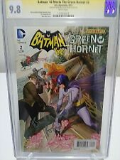 Batman'66 Meets the Green Hornet #2 CGC SS 9.8 Signed by ADAM WEST and BURT WARD