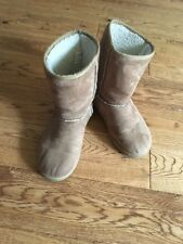 Airwalk ladies boots UK size 5.5  brown synthetic material