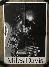 Miles Davis Vintage Poster Pin-up Trumpet Jazz Big Band Legend Iconic Pin-up 70s