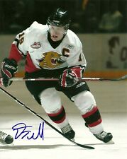 DANA TYRELL SIGNED PRINCE GEORGE COUGARS 8x10 PHOTO! Autograph