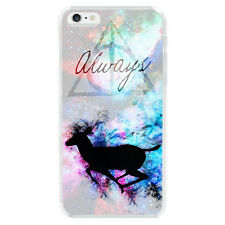 Harry Potter Deer Always Soft TPU Case Cover For iphone X 6 6S 7 Plus 5S S8 S9+