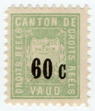 (I.B) Switzerland Revenue : Local Duty Stamp 60c (Vaud)