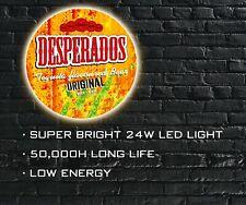 Desperados Beer LED ILLUMINATED SIGN, WALL MOUNTED LIGHT BOX for Bar, Man Cave
