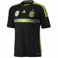 Adidas Men's Spain Away Jersey FIFA World Cup 2010 in Black - M